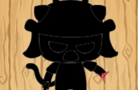 Samurai-Katzen-Spinner