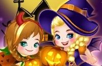 Elsa Et Anna Halloween Story