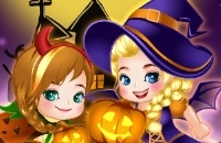 Elsa E Anna Halloween Story