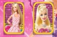 Barbie-passende Karte