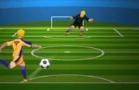 Speel nu het nieuwe voetbal spelletje Penalty Shootout: Multi League