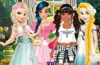 Prinzessinnen Mori Mädchen Stil