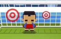 Speel nu het nieuwe voetbal spelletje Blocky Soccer