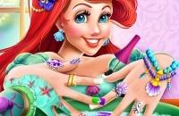 Jugar un nuevo juego: Sirena De La Princesa Nails Spa