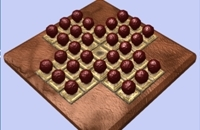 New Game: Peg Solitaire 3D