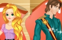 Rapunzel Aufgeteilt Mit Flynn