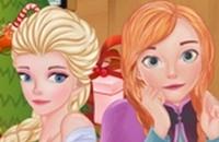 Frozen Sisters Día De Navidad