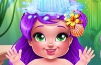 Jugar un nuevo juego: Baño De Sirena Para Bebés