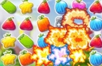 Frenesí De Aplastamiento De Frutas