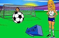 Speel nu het nieuwe voetbal spelletje Penalty effect