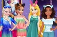 Prinzessinnen Night Movie Party