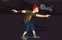 Cemetary Skateboard
