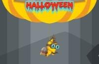 Klappe Katze Halloween