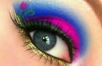 Princesa Anna Maquiagem Dos Olhos