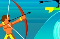 Surfer Bogenschützen