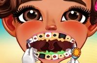 Bebê Moana No Dentista