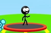 Jugar un nuevo juego: Trampolín Stickman