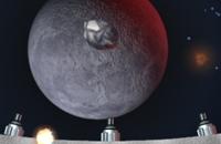Asteroïde Explosie