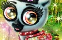 Glücklicher Lemur