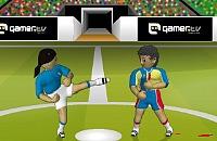 Speel nu het nieuwe voetbal spelletje Voetbal Gevecht