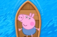 Piggy à La Recherche De La Route De La Mer