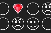 Jugar un nuevo juego: Smileys
