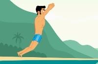 Jugar un nuevo juego: Salto De Acantilado