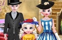 Elsa Vintage Photo De Famille