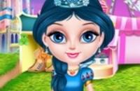 Bebê Elsa Na Disneylândia