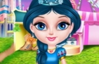 Baby Elsa In Disneyland