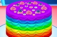 Elsa Kochen Regenbogen Kuchen