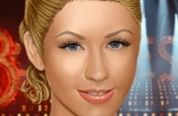 Christina Aguilera Wahres Make-Up