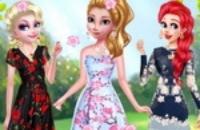 Flor De Princesas De Disney