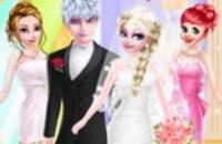 Casamento Do Amor De Elsa E De Jack