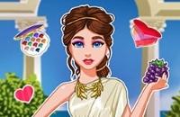 Legendäre Mode: Griechische Göttin