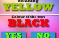 Jugar un nuevo juego: Texto En Color Challeenge