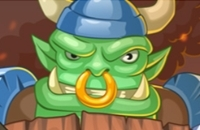 New Game: Clash Of Warlord Orcs
