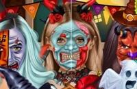 Halloween Gesicht Kunst
