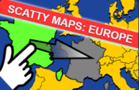 New Game: Scatty Maps: Europe