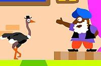 Fafu the ostrich