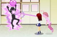 Flirt on school