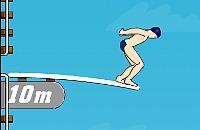 Duikplank Springen 2