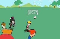 Speel nu het nieuwe voetbal spelletje Park Voetbal