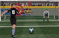 Speel nu het nieuwe voetbal spelletje 3D Penalty