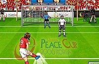 Speel nu het nieuwe voetbal spelletje Peace Cup Korea