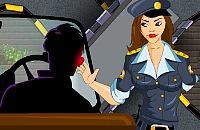 Vrouwelijke Rij-examinator