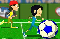 Speel nu het nieuwe voetbal spelletje Reuze Voetbal