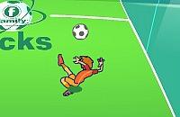 Speel nu het nieuwe voetbal spelletje Kick die bal