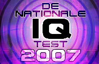 De Nationale IQ Test 2007