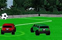 Speel nu het nieuwe voetbal spelletje Hummer Voetbal 2